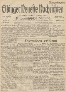 Elbinger Neueste Nachrichten, Nr. 311 Donnerstag 12 November 1914 66. Jahrgang