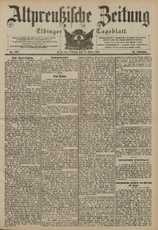 Altpreussische Zeitung, Nr. 140 Freitag 17 Juni 1904, 56. Jahrgang