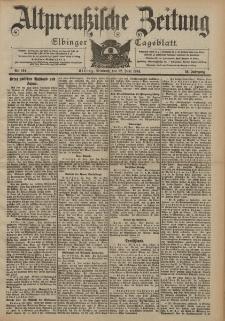 Altpreussische Zeitung, Nr. 144 Mittwoch 22 Juni 1904, 56. Jahrgang