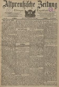 Altpreussische Zeitung, Nr. 152 Freitag 1 Juli 1904, 56. Jahrgang