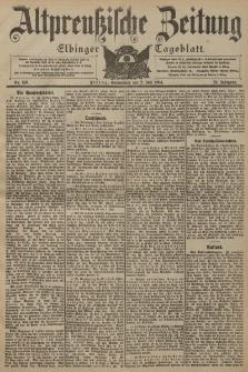 Altpreussische Zeitung, Nr. 153 Sonnabend 2 Juli 1904, 56. Jahrgang