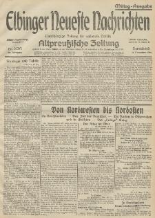Elbinger Neueste Nachrichten, Nr. 313 Sonnabend 14 November 1914 66. Jahrgang