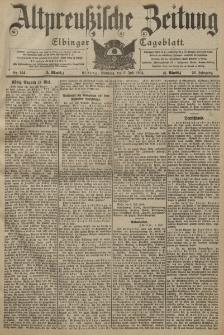 Altpreussische Zeitung, Nr. 154 Sonntag 3 Juli 1904, 56. Jahrgang