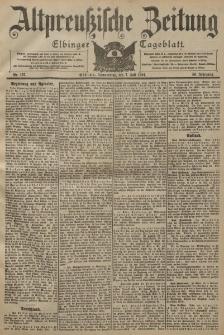 Altpreussische Zeitung, Nr. 157 Donnerstag 7 Juli 1904, 56. Jahrgang