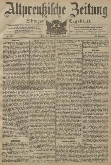 Altpreussische Zeitung, Nr. 158 Freitag 8 Juli 1904, 56. Jahrgang