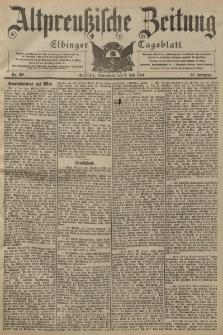 Altpreussische Zeitung, Nr. 159 Sonnabend 9 Juli 1904, 56. Jahrgang