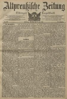 Altpreussische Zeitung, Nr. 161 Dienstag 12 Juli 1904, 56. Jahrgang