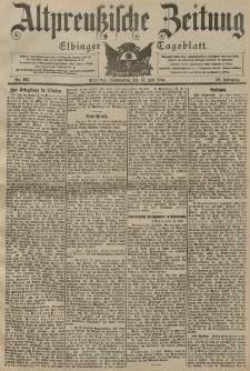 Altpreussische Zeitung, Nr. 163 Donnerstag 14 Juli 1904, 56. Jahrgang