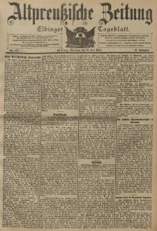 Altpreussische Zeitung, Nr. 167 Dienstag 19 Juli 1904, 56. Jahrgang