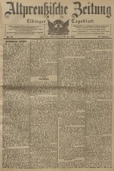 Altpreussische Zeitung, Nr. 169 Donnerstag 21 Juli 1904, 56. Jahrgang