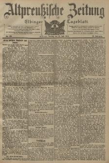Altpreussische Zeitung, Nr. 170 Freitag 22 Juli 1904, 56. Jahrgang