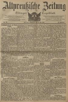 Altpreussische Zeitung, Nr. 171 Sonnabend 23 Juli 1904, 56. Jahrgang