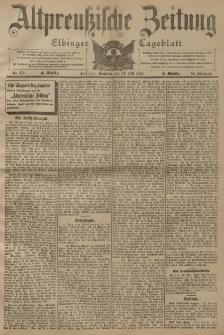 Altpreussische Zeitung, Nr. 172 Sonntag 24 Juli 1904, 56. Jahrgang