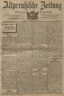 Altpreussische Zeitung, Nr. 173 Dienstag 26 Juli 1904, 56. Jahrgang