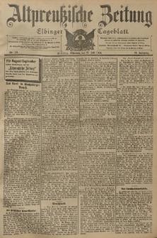 Altpreussische Zeitung, Nr. 174 Mittwoch 27 Juli 1904, 56. Jahrgang