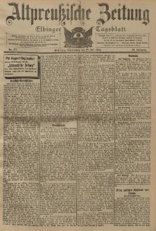 Altpreussische Zeitung, Nr. 175 Donnerstag 28 Juli 1904, 56. Jahrgang