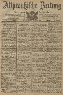 Altpreussische Zeitung, Nr. 178 Sonntag 31 Juli 1904, 56. Jahrgang