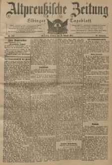 Altpreussische Zeitung, Nr. 200 Freitag 26 August 1904, 56. Jahrgang