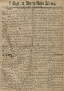 Altpreussische Zeitung, Nr. 206 Freitag 2 September 1904, 56. Jahrgang