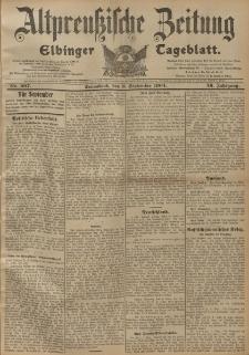Altpreussische Zeitung, Nr. 207 Sonnabend 3 September 1904, 56. Jahrgang