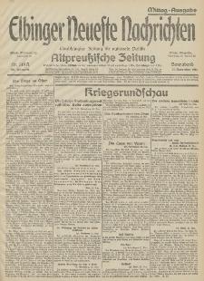 Elbinger Neueste Nachrichten, Nr. 319 Sonnabend 21 November 1914 66. Jahrgang
