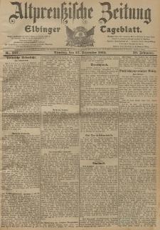 Altpreussische Zeitung, Nr. 227 Dienstag 27 September 1904, 56. Jahrgang