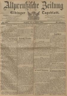Altpreussische Zeitung, Nr. 239 Dienstag 11 Oktober 1904, 56. Jahrgang