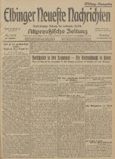 Elbinger Neueste Nachrichten, Nr. 322 Dienstag 24 November 1914 66. Jahrgang
