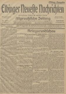 Elbinger Neueste Nachrichten, Nr. 326 Sonnabend 28 November 1914 66. Jahrgang