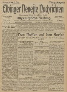 Elbinger Neueste Nachrichten, Nr. 337 Mittwoch 9 Dezember 1914 66. Jahrgang