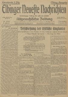 Elbinger Neueste Nachrichten, Nr. 345 Donnerstag 17 Dezember 1914 66. Jahrgang