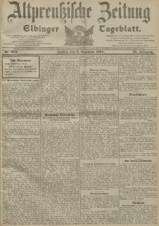 Altpreussische Zeitung, Nr. 283 Freitag 2 Dezember 1904, 56. Jahrgang