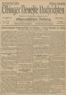 Elbinger Neueste Nachrichten, Nr. 349 Montag 21 Dezember 1914 66. Jahrgang