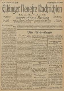 Elbinger Neueste Nachrichten, Nr. 351 Mittwoch 23 Dezember 1914 66. Jahrgang