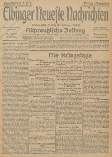 Elbinger Neueste Nachrichten, Nr. 357 Donnerstag 31 Dezember 1914 66. Jahrgang