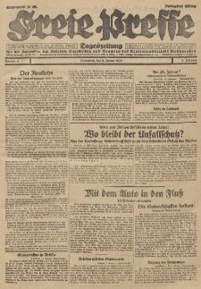 Freie Presse, Nr. 4 Sonnabend 5. Januar 1929 5. Jahrgang