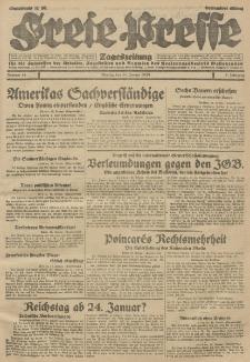 Freie Presse, Nr. 11 Montag 14. Januar 1929 5. Jahrgang