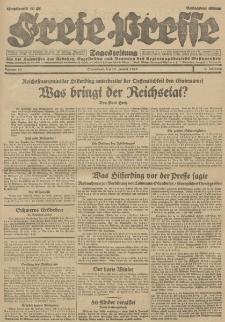 Freie Presse, Nr. 16 Sonnabend 19. Januar 1929 5. Jahrgang