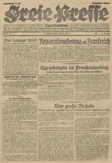 Freie Presse, Nr. 20 Donnerstag 24. Januar 1929 5. Jahrgang