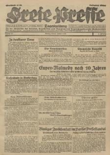 Freie Presse, Nr. 23 Montag 28. Januar 1929 5. Jahrgang