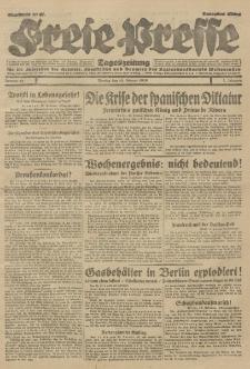 Freie Presse, Nr. 41 Montag 18. Februar 1929 5. Jahrgang