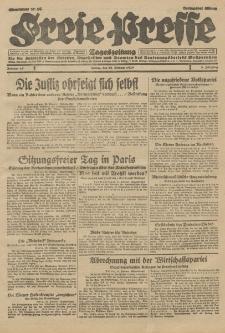 Freie Presse, Nr. 45 Freitag 22. Februar 1929 5. Jahrgang