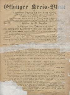 Kreis-Blatt des Königlich Preußischen Landraths-Amtes zu Elbing, Nr. 71 Dienstag 9 September 1890