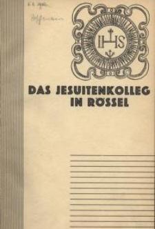 Das Jesuitenkolleg in Rössel