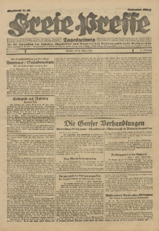 Freie Presse, Nr. 57 Freitag 8. März 1929 5. Jahrgang