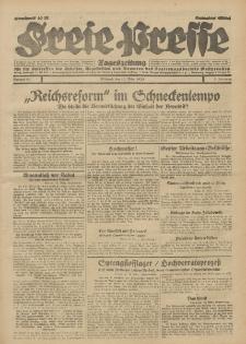 Freie Presse, Nr. 61 Mittwoch 13. März 1929 5. Jahrgang