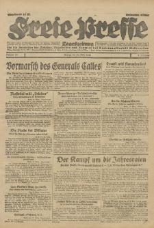 Freie Presse, Nr. 65 Montag 18. März 1929 5. Jahrgang