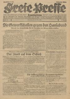Freie Presse, Nr. 68 Donnerstag 21. März 1929 5. Jahrgang