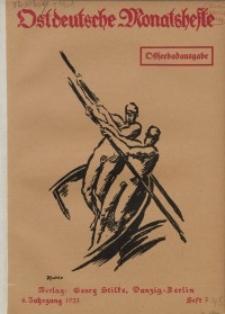 Ostdeutsche Monatshefte Nr. 3, Juni 1923, 4 Jahrgang