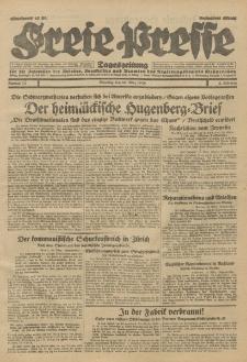 Freie Presse, Nr. 72 Dienstag 26. März 1929 5. Jahrgang
